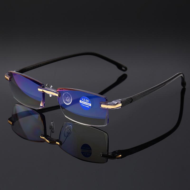 New high grade diamond trimming reading glasses 811-1