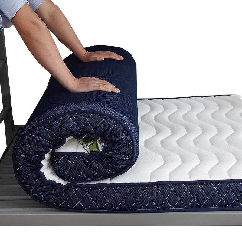 223.00元包邮乳胶软垫单人大学生宿舍0.9 m床垫