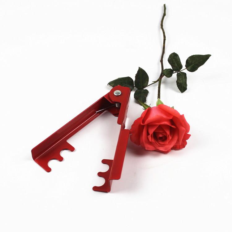 Розовые колотые клещи | Скрепки клипов к сокровищам шипов в цветочный магазин пакет Загрузочные материалы