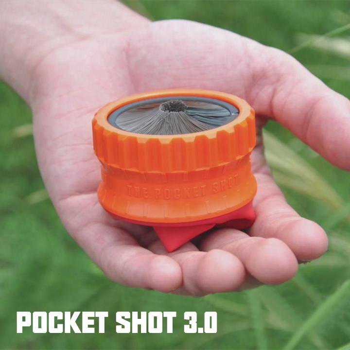 美国进口THE POCKET SHOT3.0首款圆形弹弓口袋弓 口袋弹弓 杯袋弓