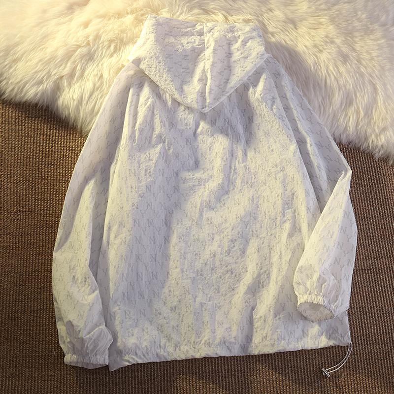 1603【实拍实价】防晒衣女夏2021新款薄款开衫外套上衣大码女装