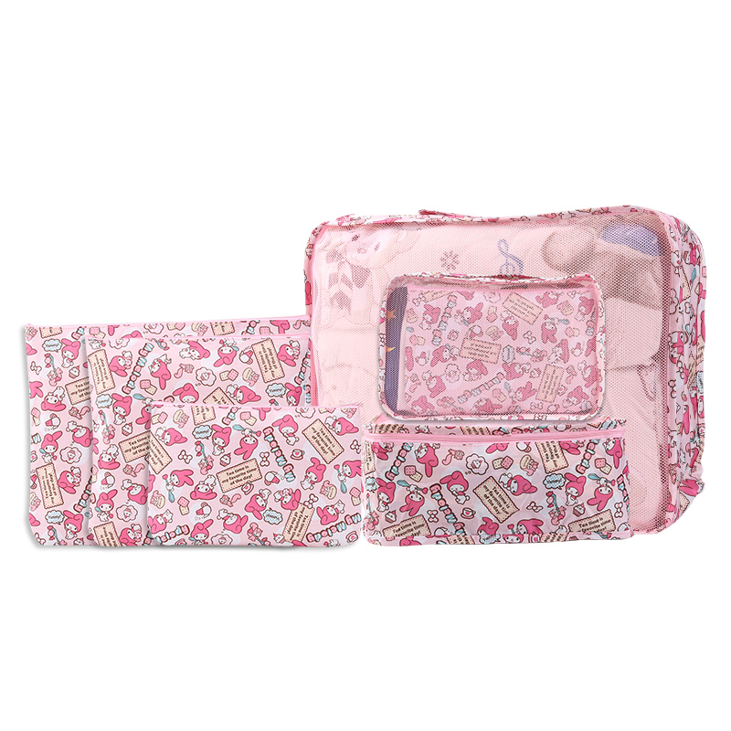 My Melody Clothing sorting bag travel luggage clothes storage bag