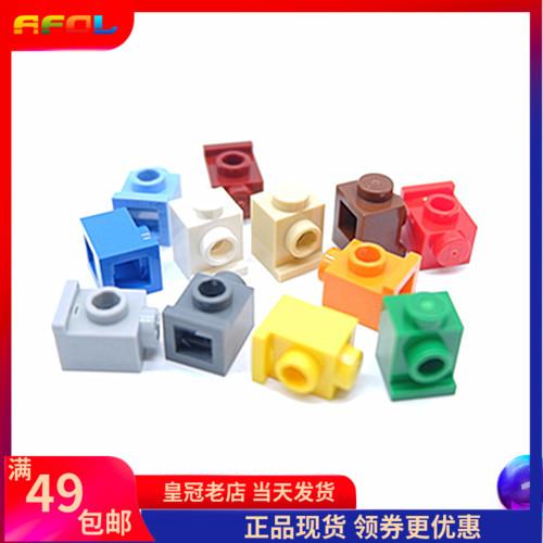 乐高lego 4070 1x1砖浅灰深灰白米