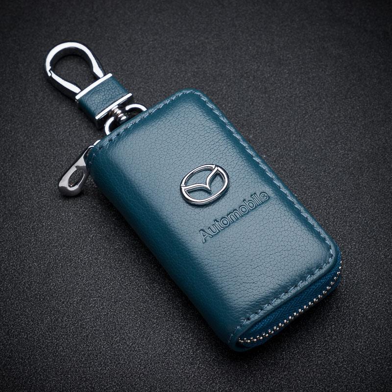 马自达6阿特兹cx-4马3马六CX-5昂克赛拉cx4真皮CX5汽车钥匙包套