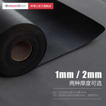 Dr. Acoustic soundproof material Wall KTV damping soundproof felt cinema indoor bedroom studio soundproofing Home