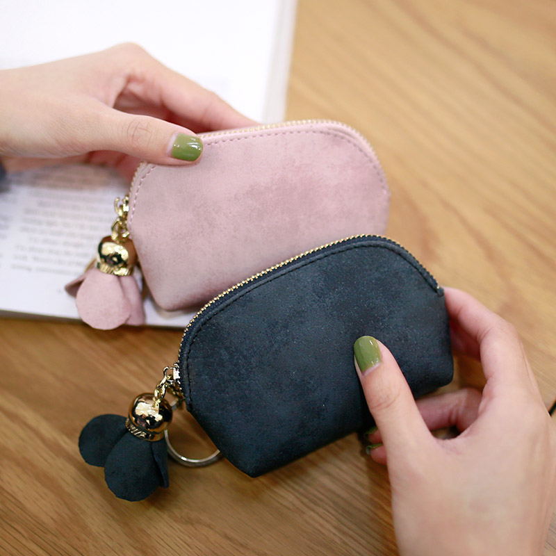 2019 new little wallet cute Korean pocket card pocket Mini Bag card bag key bag