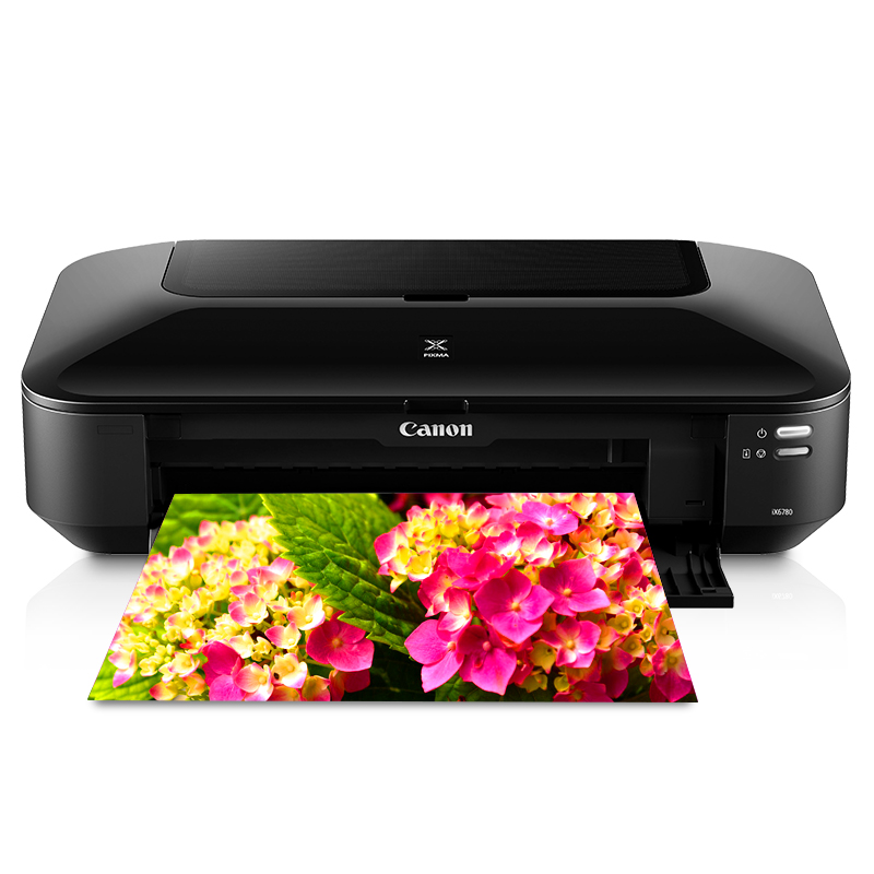 Canon ix6780/ix6880ip8780 color inkjet a3 professional photo printer for office commercial CAD drawings self-adhesive skin texture cover business cards thick coated paper film wash photos
