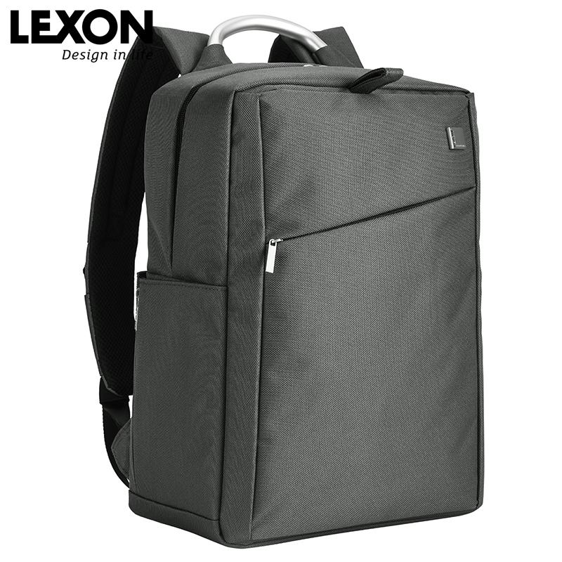 法国LEXON乐上商务双肩背包15寸笔记本电脑包男女防水背包LNE9013