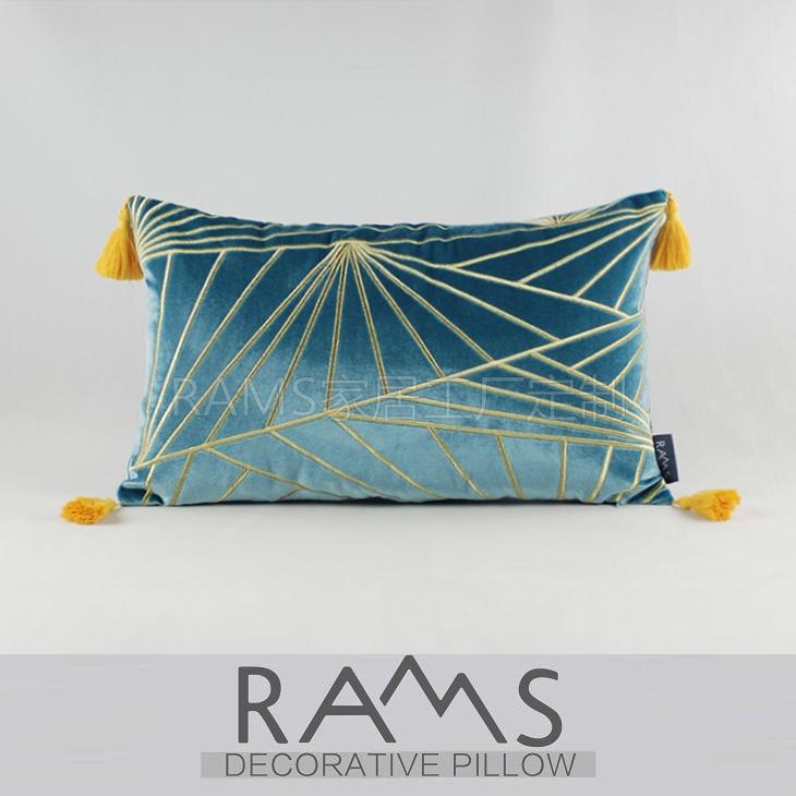 RP471L- синий пояс подушка