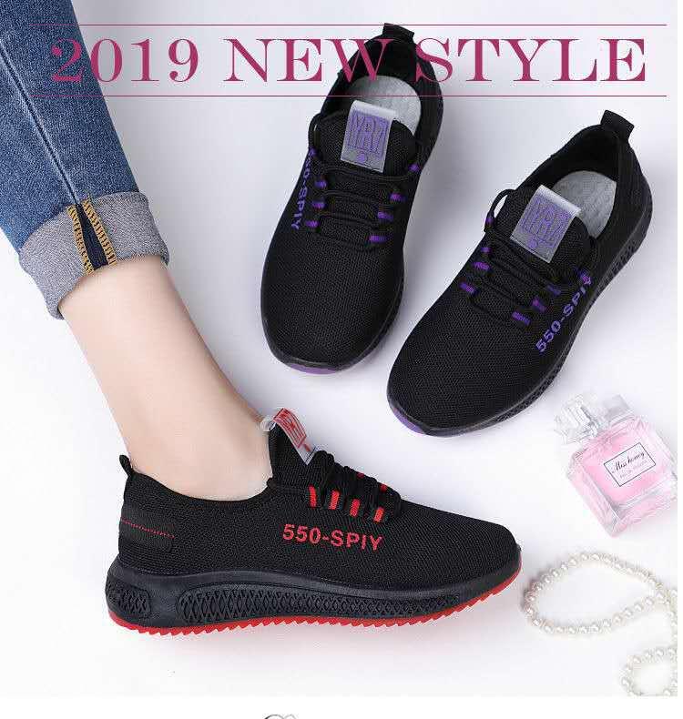 2020加绒老北京布鞋耐磨加厚底片女士系带网面鞋舒适轻便休闲女鞋