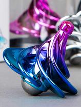 风动念力指尖陀螺抖音同款空气动力黑科技反重力创意玩具解压神器