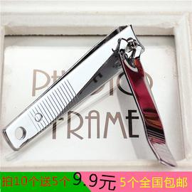 热卖(8厘米)不锈钢指甲钳女士指甲刀清洁美甲用指甲剪一元两元