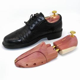 雪松木整楦鞋楦可调节鞋撑定型鞋子实木撑鞋器防皱防霉扩鞋器一双