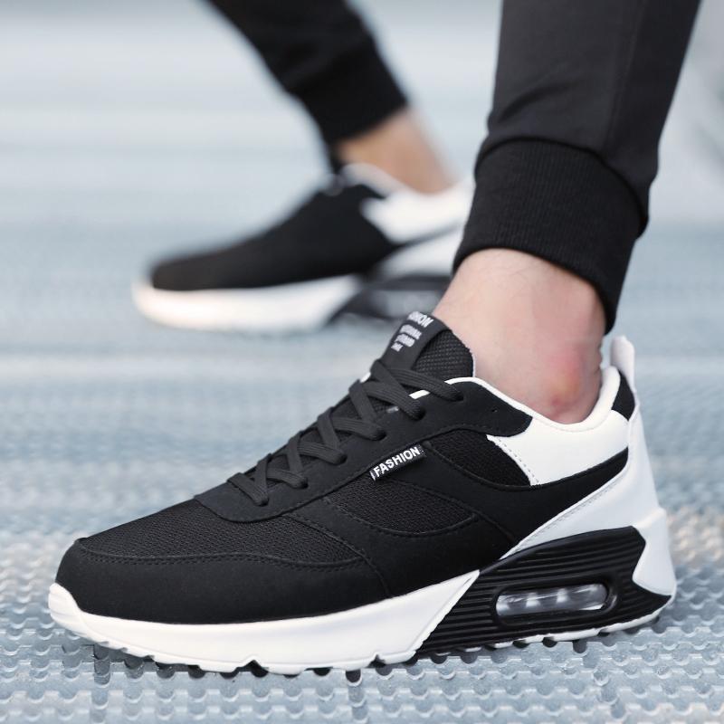 冬季加绒保暖潮鞋韩版潮流运动休闲鞋男生棉鞋跑步百搭男士男鞋子