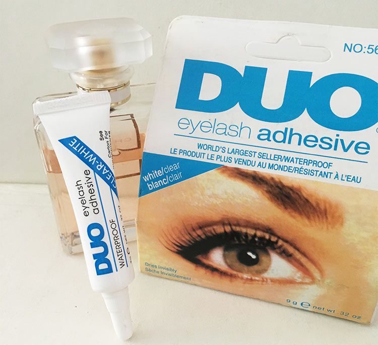美国DUO假睫毛胶水防过敏超粘速干易卸双眼皮胶透明持久孕妇可用