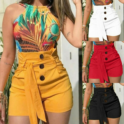 Summer Fashion Casual Street Bottoms Stretch Hot Short Pants