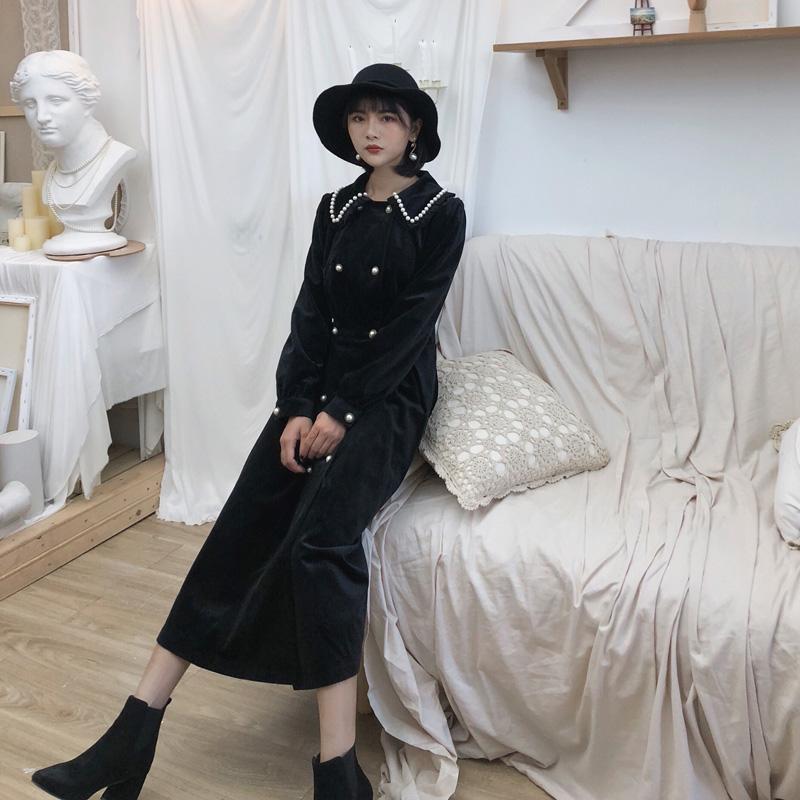 dear nana法式复古赫本风连衣裙券后259.00元