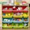 瑞美特儿童玩具收纳架宝宝书架幼儿园多层置物架子整理架玩具箱柜