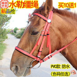水勒缰绳PVC马嚼子全套用品马具大小矮马笼头 10送1亏本