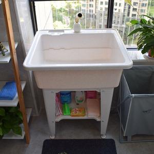 轻便塑料大码加厚厨盆水槽厨房刷锅池洗菜池洗碗池单槽洗脸盆水槽