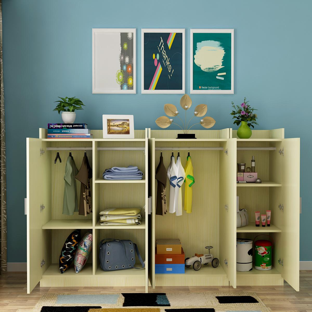 新品板式小衣柜置物储物阳台经济型热销31件五折促销