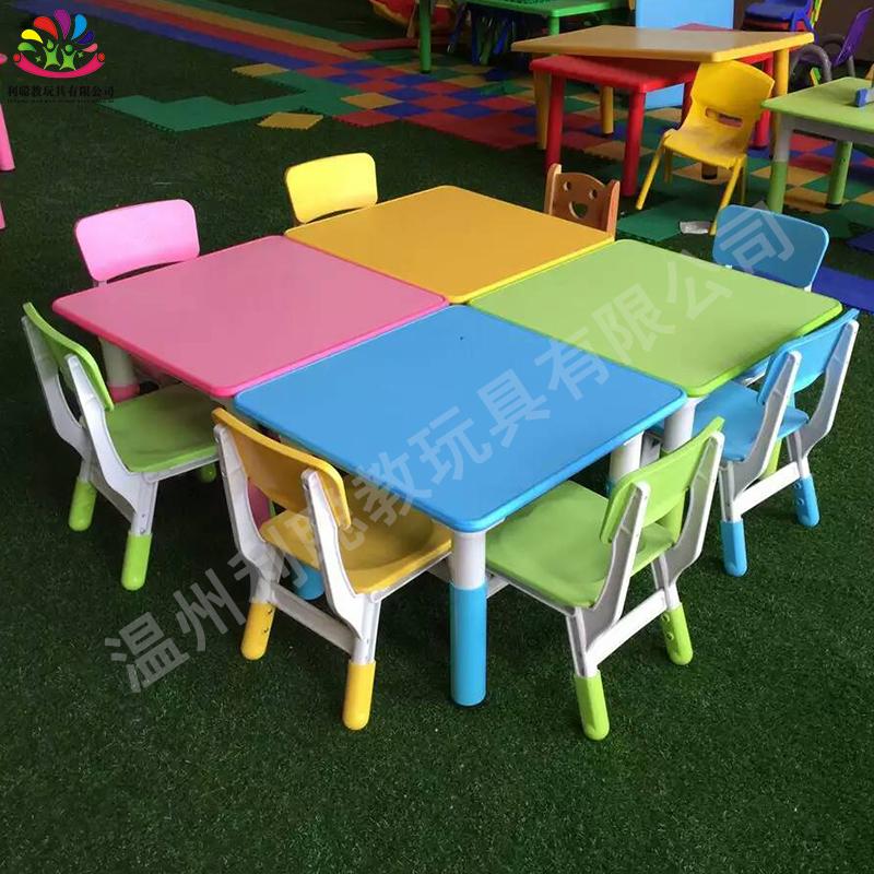 Детский сад стол сгущаться пластик изучение урок столы и стулья установите детский сад ребенок отмены регулировать ребенок столы и стулья
