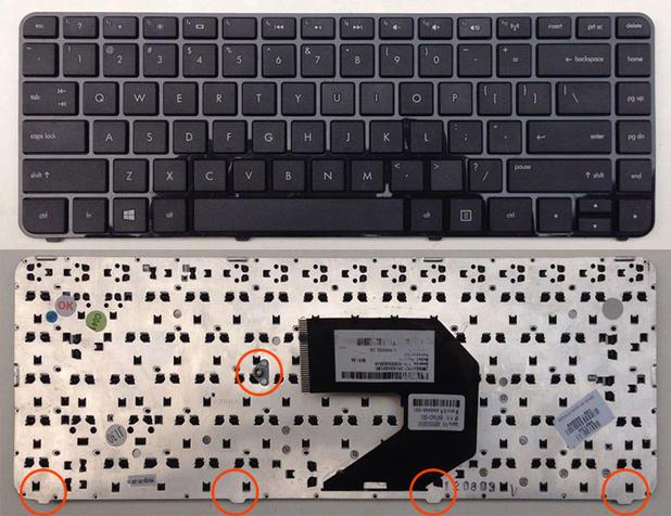 更换 惠普CQ43 CQ57 431 430 450 435 pavilion G4 笔记本键盘G6