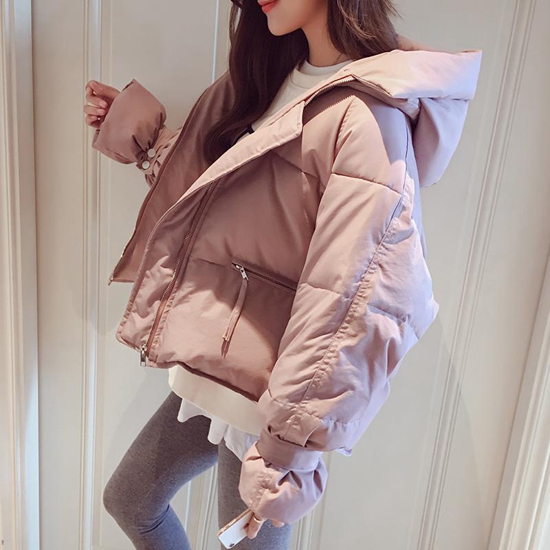 冬装面包服棉服女短款ins加厚棉袄2018新款韩版学生棉衣冬季外套