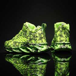 迈伦匹克星尘大学生 篮球球鞋apl机车鞋跑步鞋涂鸦哥斯拉大学生