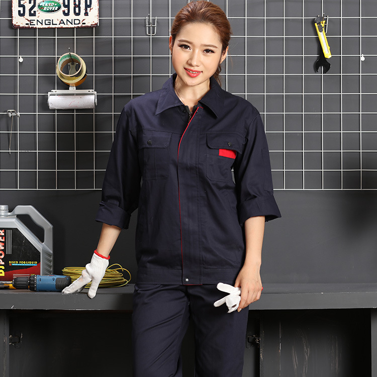 Pure Cotton autumn winter engineering clothing uniform factory workshop electrician welder clothing mechanical mold tooling decoration clothing
