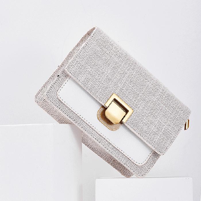 MAKU2019新款小清新仙女帆布包包女潮时尚洋气森系复古链条斜挎包