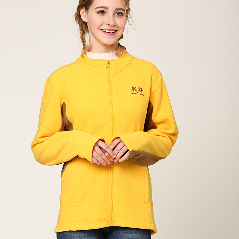 Spring and autumn special Fleece Jacket Womens slim and thickened top outdoor sports zipper sweater