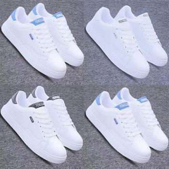 韩版潮流白色休闲板鞋子男潮鞋棉鞋