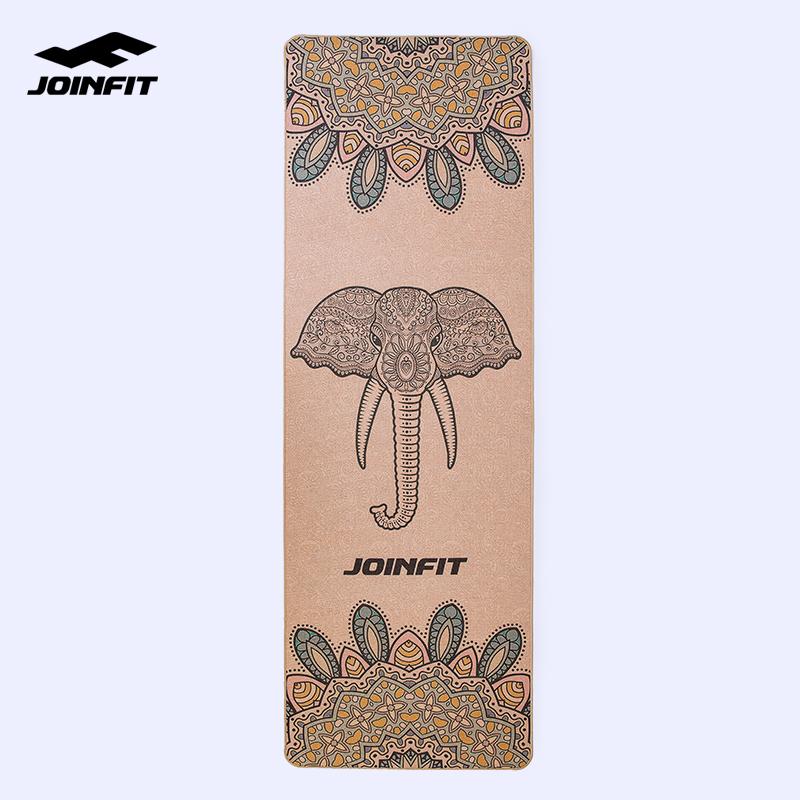 限100000张券Joinfit 橡胶瑜伽垫女男运动垫 加厚加宽加长家用地垫 瑜珈健身垫