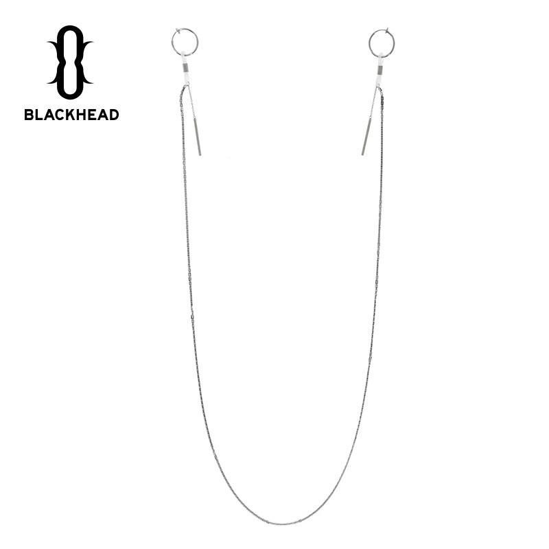 black head/黑头设计师潮牌 简约对称圆环-圆棒钢(BLACK HEAD黑头旗舰店仅售199元)
