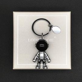 太空机器人创意汽车钥匙扣情侣书包挂件男女潮钥匙链圈环高档定制