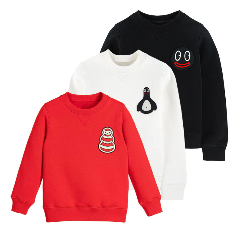 Fashion up effortless quality assurance of the whole family plus Plush long sleeve sweater in stock