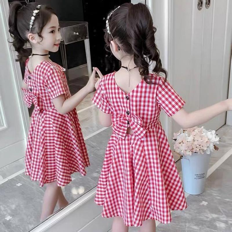 ZZ22女童时髦连衣裙夏装2020夏季新款儿童超洋气女孩裙子童装公主