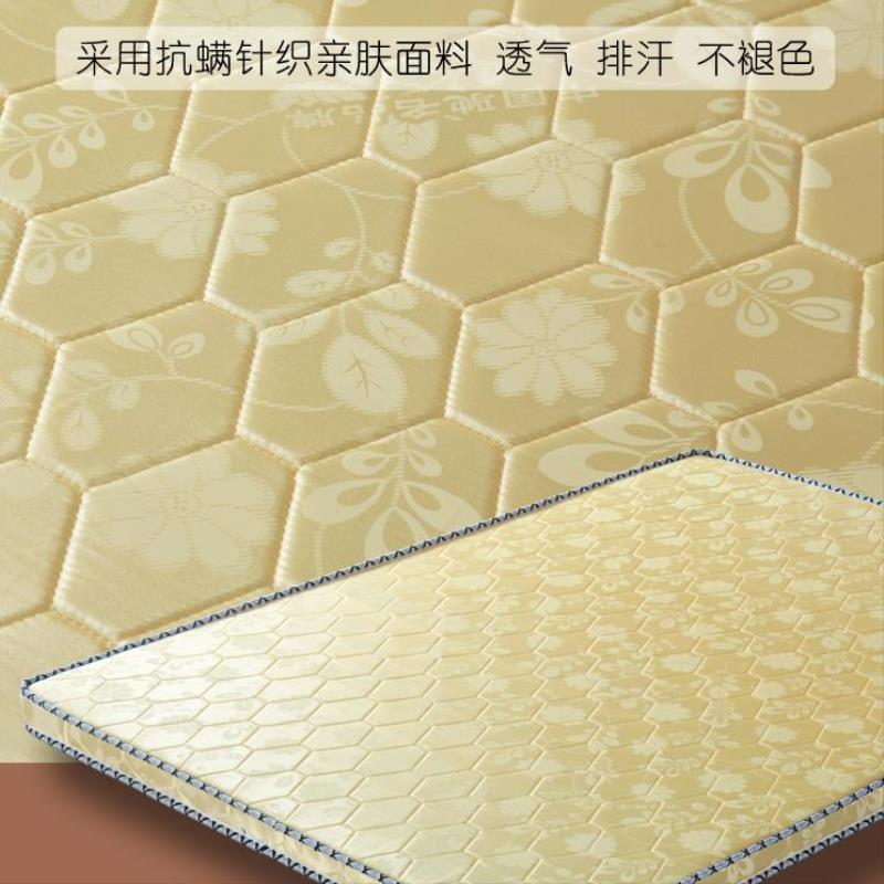 橡胶软垫偏硬椰棕垫1.8m棕垫床垫薄款学生纯天然0.9×2.0m席梦思满297.00元可用148.5元优惠券