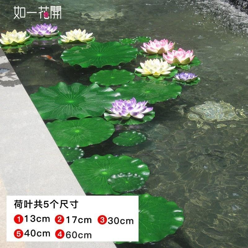 連花客間のスイレンの蓮の花の家庭用蓮葉池は仏陀用の蓮の花の微景をシミュレートして置くことができます。