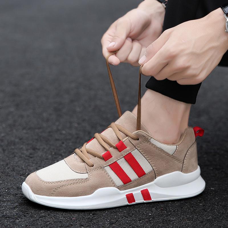 2018新款运动男鞋子男士休闲鞋社会潮鞋韩版潮流百搭夏季透气网鞋