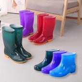 女中筒高筒防滑耐磨耐酸堿學生防水雨鞋 廚房勞工雨靴 時尚 水鞋 韓版