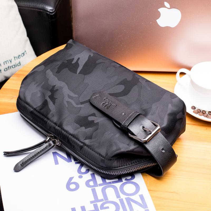 Kinh doanh thời trang túi xách nam túi xách công suất lớn Oxford vải ly hợp túi ly hợp túi nylon chống thấm nước - Túi của con người