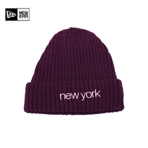 Newera New NewYork Embroidery warm knitted hat wool hat autumn and winter cap men and women tide