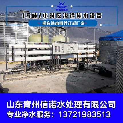 纯净水设备大型商用工业反渗透净水器锅炉去离子水设备ro纯水机