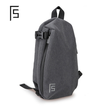 Chest bag men's fashion brand single shoulder bag leisure multi-functional men's Bag Messenger Bag men's fashion young backpack students