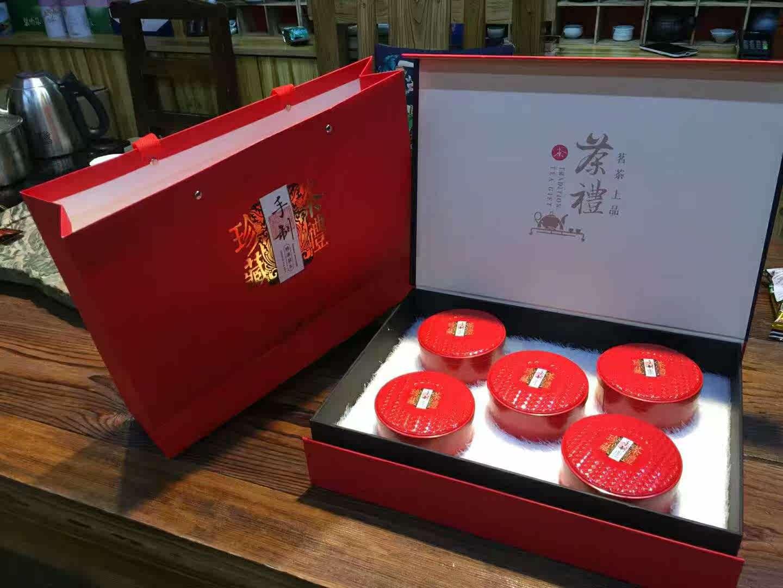 茶农特级5人12个月直销青岛特产胶南海青红茶500g礼盒装