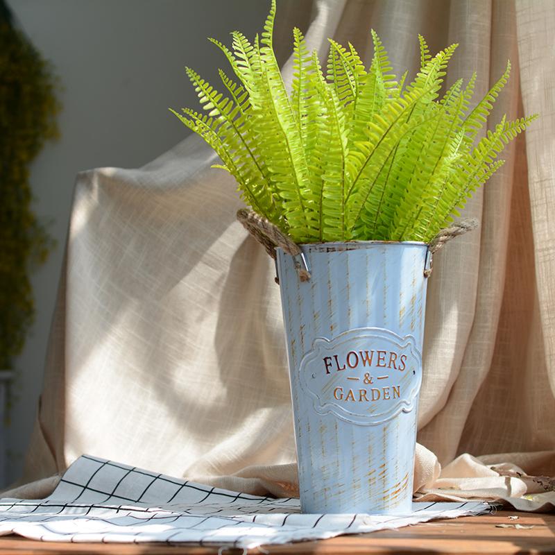 仿真波斯叶蕨类假花衬托布置道具绿叶绿植墙饰家居婚庆装饰插花艺