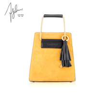 AJOY SAHU/AS New Style 2009 Small Population Fashion Leather Hydraulic Bag Metal Decorative Bag Handbag