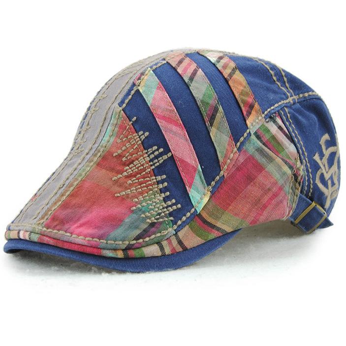韓国のファッションの潮流春夏新型ベレー帽の女性の欧米のアヒルの舌の帽子の青年は前に進んで男の土が現れました。